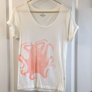 Jcrew kraken collector tee